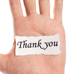 thank you hand
